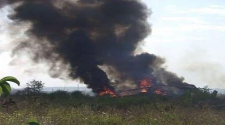 Исполняется 28 лет со дня уничтожения армянами гражданского вертолета в Шуше