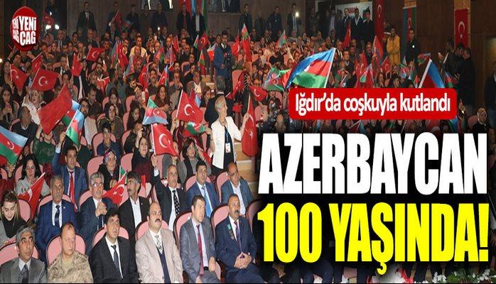 Azerbaycan 100 yaşında!