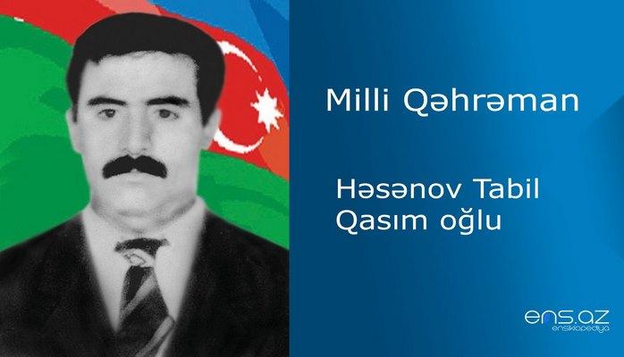 Tabil Həsənov Qasım oğlu