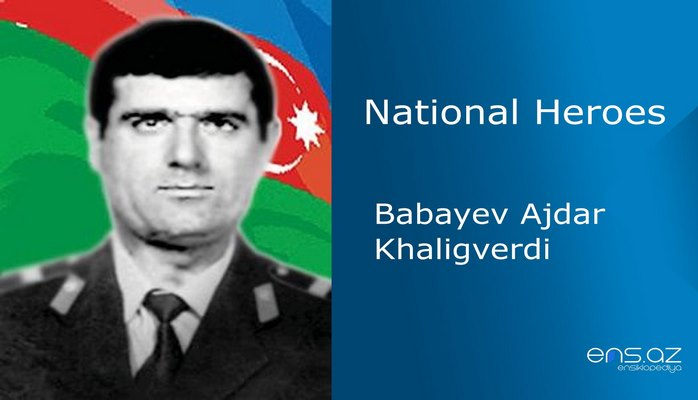 Babayev Ajdar Khaligverdi