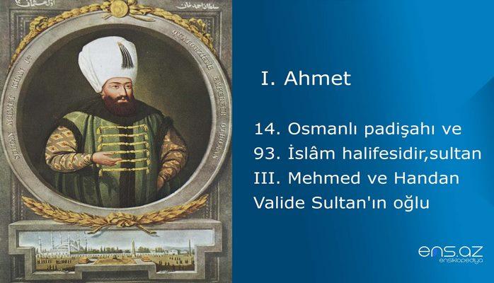 I. Ahmet
