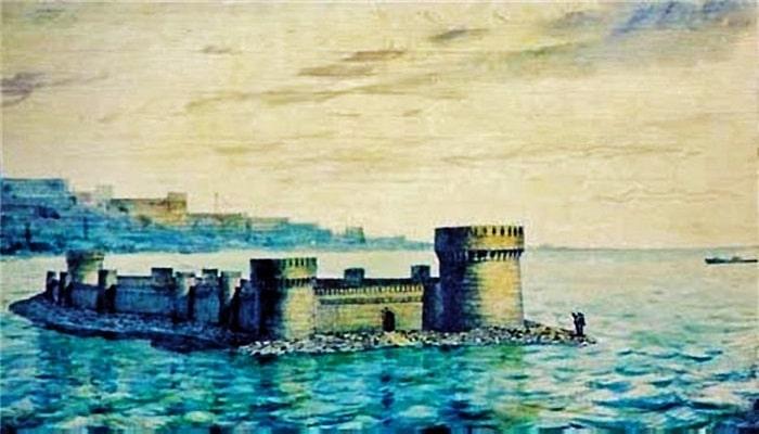 Шахри-юнан: затопленный город на Каспии