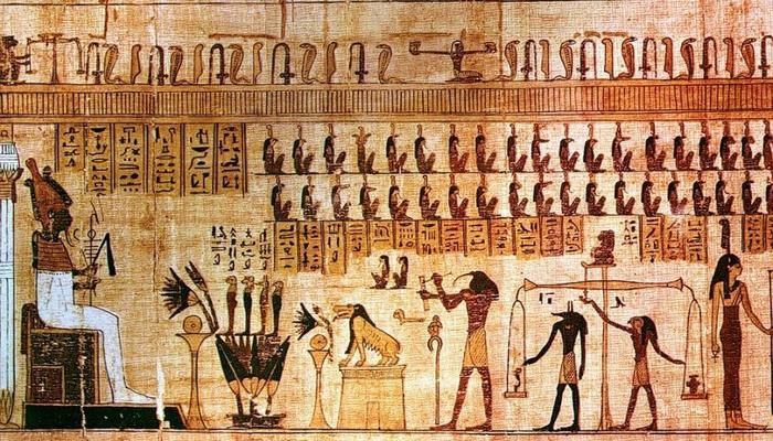 Ученые расшифровали невидимые знаки на древнем египетском папирусе