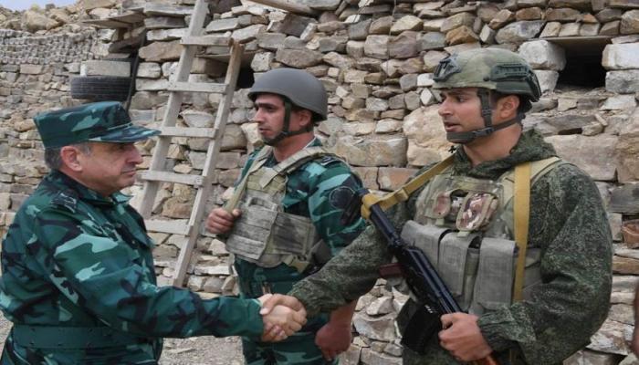 Магеррам Алиев и Эльчин Гулиев побывали в воинских частях и подразделениях отдельной пограндивизии «Газах»