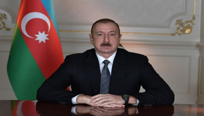 Президент Азербайджана обратился к армянскому народу