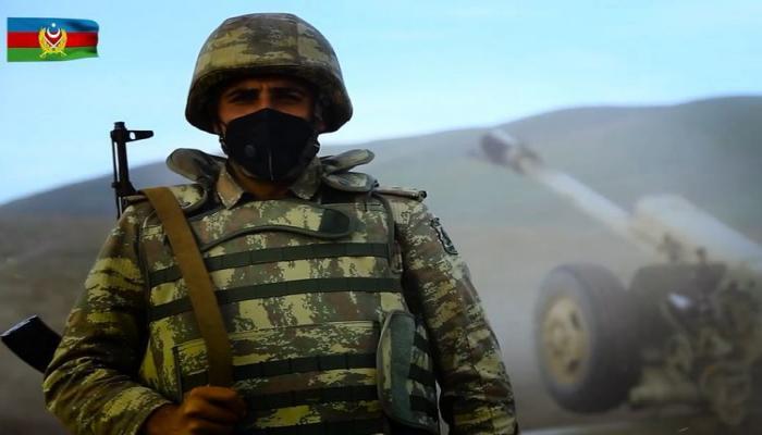 Азербайджанский солдат: Мы защищаем вас от врага, а вы нося маски, каждого из нас