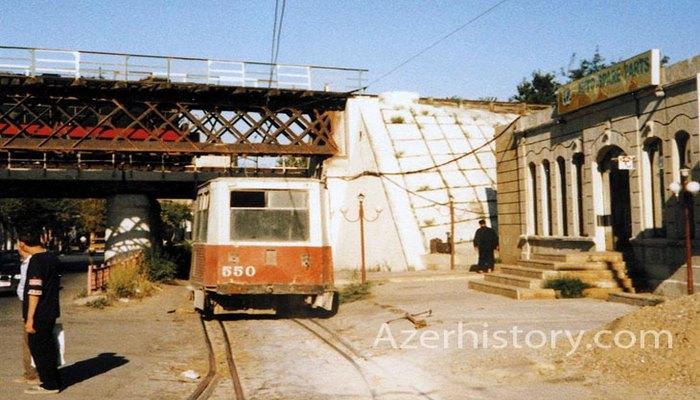 Черногородский: один из самых старых мостов-путепроводов Баку (ФОТО)