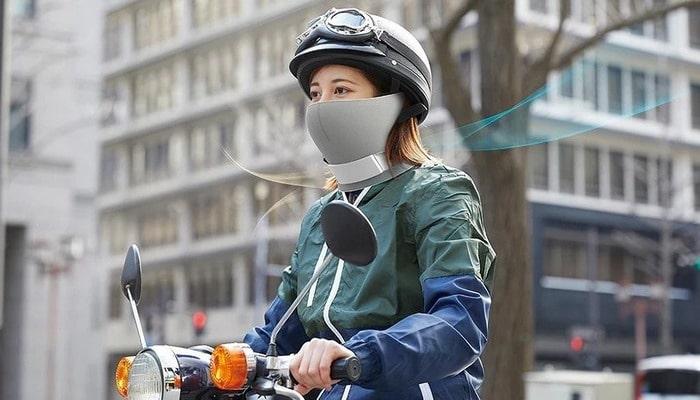"""Bəs koronavirusdan qorunmağa kömək edəcəkmi? Panasonic """" geyinilən təmiz hava generatoru"""" nun anonsunu verdi"""
