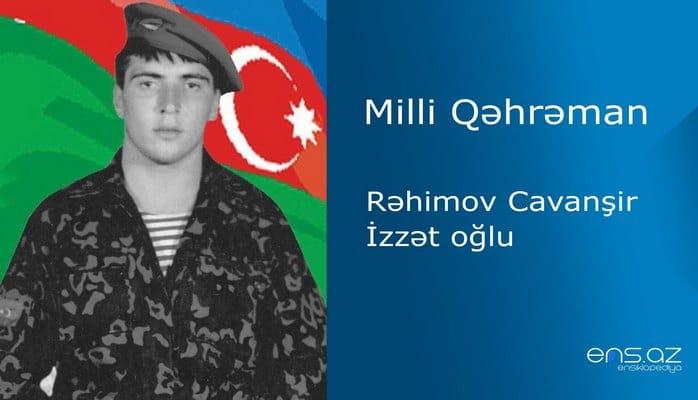 Cavanşir Rəhimov İzzət oğlu