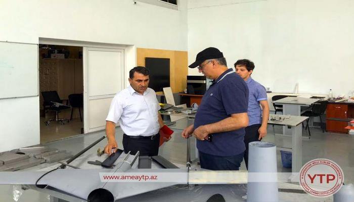 В Азербайджане проведены испытания нового дрона военного назначения