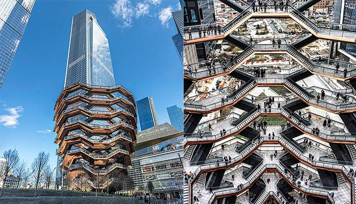 Vessel: новая (и грандиозная) достопримечательность Нью-Йорка