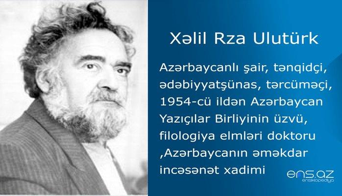 Xəlil Rza Ulutürk