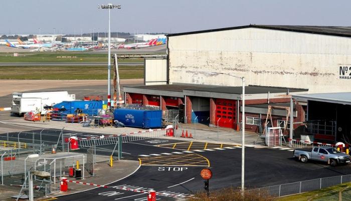 Аэропорт Бирмингема может стать временным моргом
