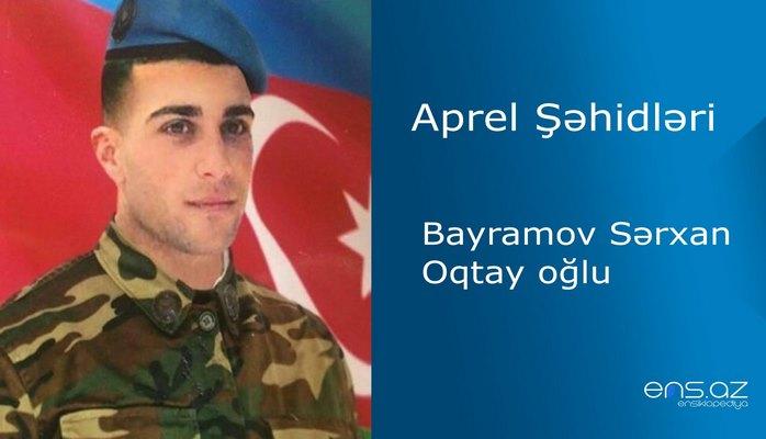 Sərxan Bayramov Oqtay oğlu