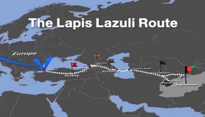 Azərbaycanın iştirakçısı olduğu Lapis-Lazuli marşrutu ilə yük daşımalarına başlanılıb
