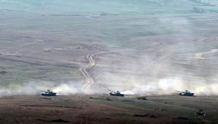 Проведен основной этап широкомасштабных оперативно-тактических учений с боевой стрельбой