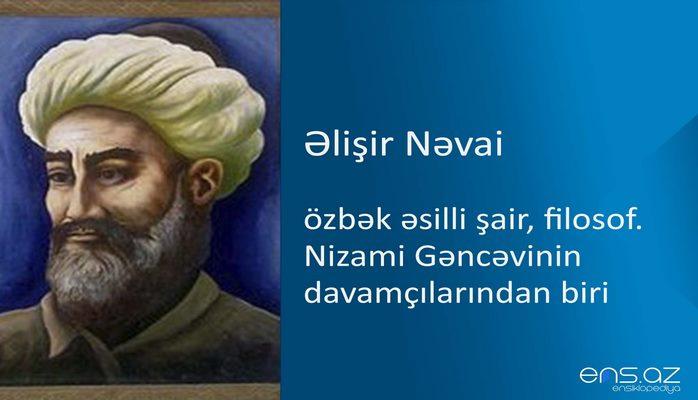 Əlişir Nəvai