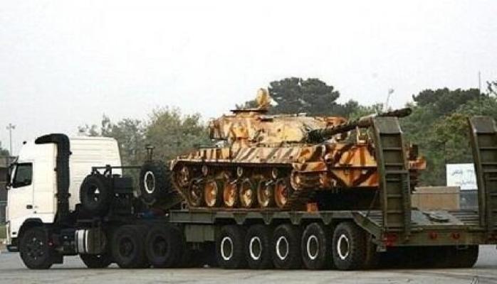 İran yeni hərbi maşınını təqdim etdi
