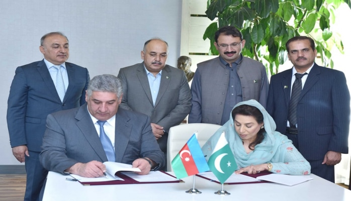 Azərbaycan və Pakistan arasında idman sahəsində Memorandum imzalandı