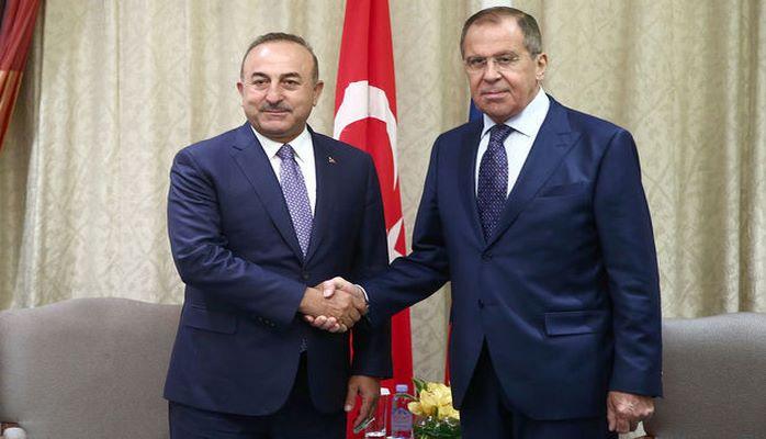 Lavrov Bakıda Çavuşoğlu ilə görüşüb