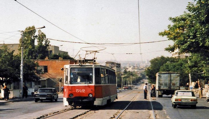 Лихие 90-е в жизни бакинского трамвая (ФОТО)