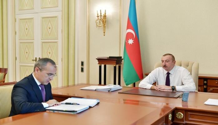 Президент Ильхам Алиев: Кроме налога никаких других выплат быть не может