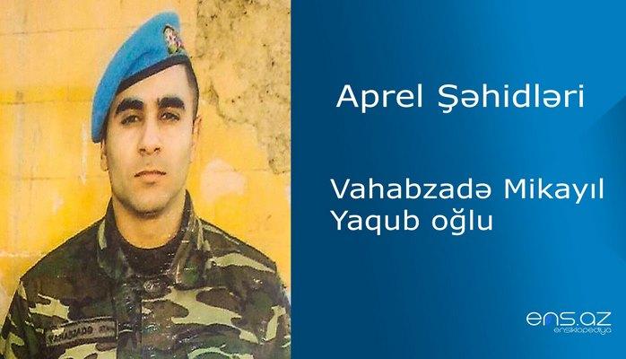 Mikayıl Vahabzadə Yaqub oğlu