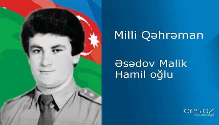 Malik Əsədov Hamil oğlu