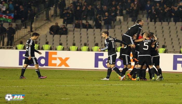 """""""Qarabağ"""" rekordunu təkrarladı"""