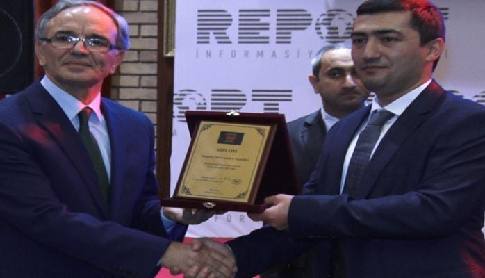 Mətbuat Şurası 'Report' İnformasiya Agentliyini təltif edib