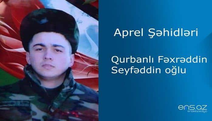 Fəxrəddin Qurbanlı Seyfəddin oğlu