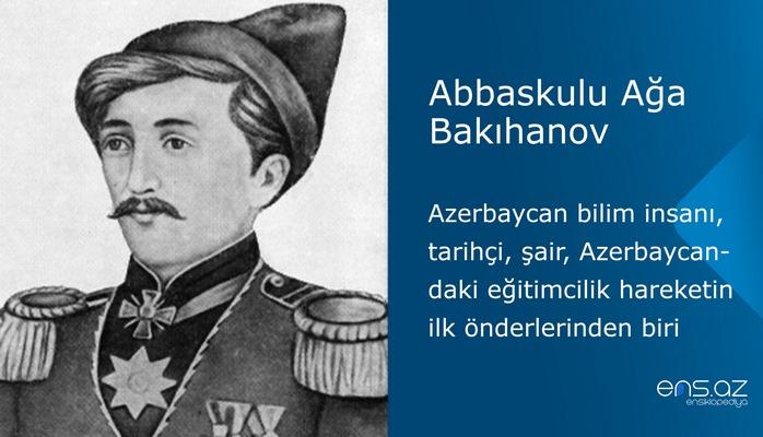 Abbaskulu Ağa Bakıhanov
