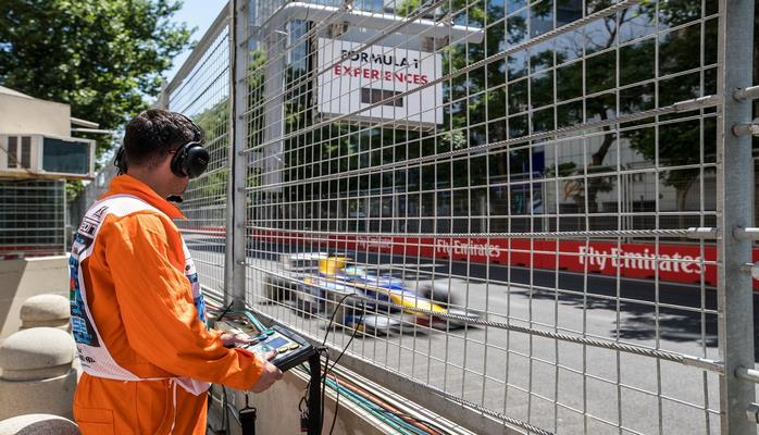 """Bu il """"Formula 1"""" yarışlarında marşal olmaq istəyənlərin sayı artıb"""