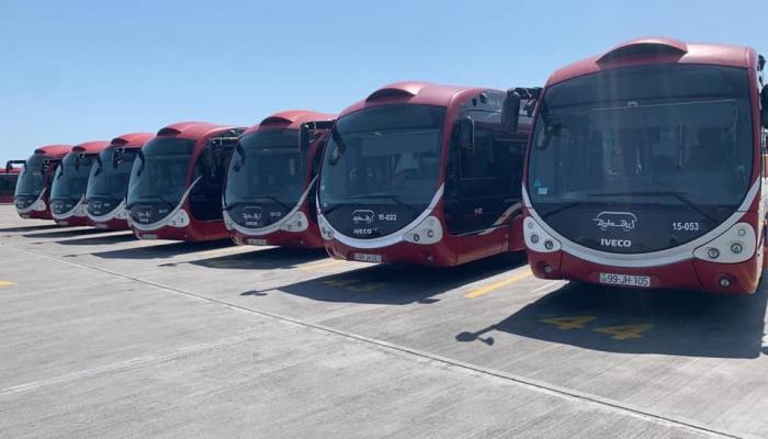 С 30-го мая по маршруту №11 будут запущены автобусы BakuBus