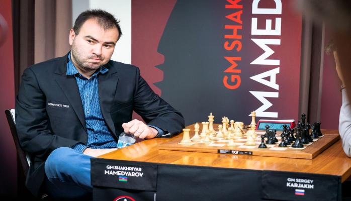 """Şəhriyar Məmmədyarov """"Grand Chess Tour""""da sonuncu oldu - Qazandığı pul bəllidir"""
