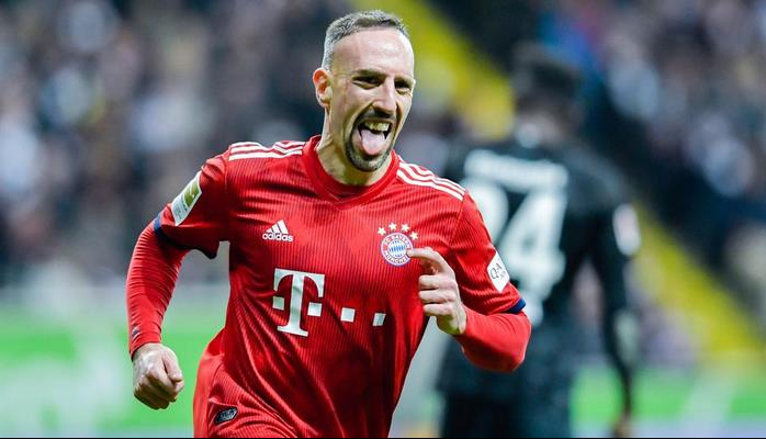 Bayern Munich hand Ribery 'heavy fine' for foul-mouthed tweetstorm