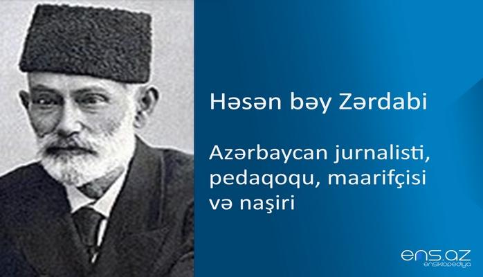 Həsən bəy Zərdabi