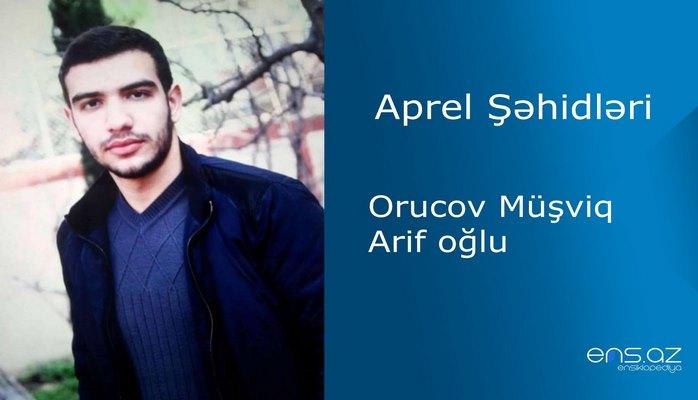 Müşfiq Orucov Arif oğlu