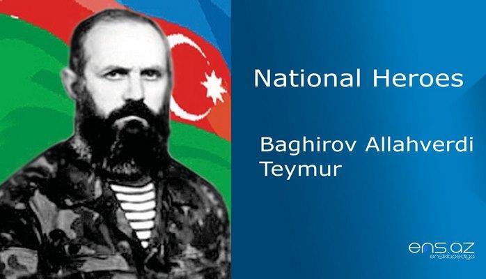 Allahverdi Baghirov Teymur
