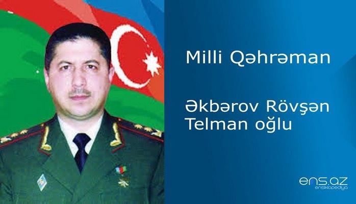 Rövşən Əkbərov Telman oğlu