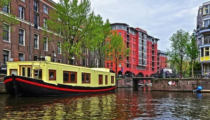 Как живут на воде в Нидерландах