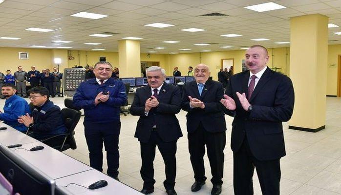 Ильхам Алиев открыл завод «SOCAR karbamid» в Сумгайыте