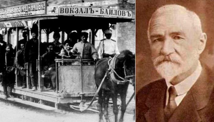 Йиндржих Йиндржишек в истории Баку