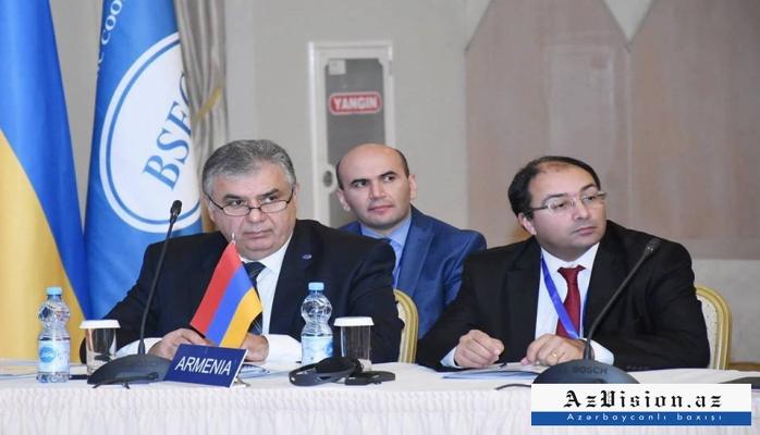 Ermənistan rəsmisi Azərbaycana gəldi