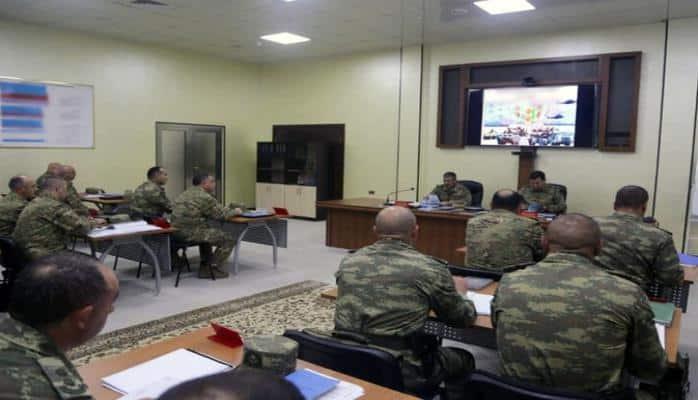Министру обороны Азербайджана доложено о ходе учений
