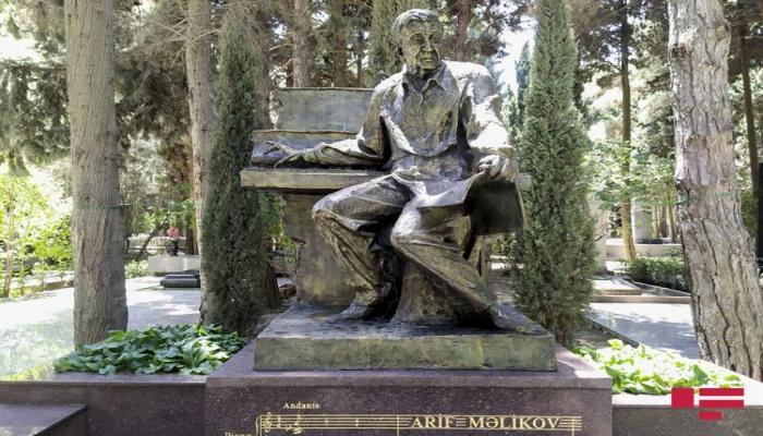 Установлен памятник Арифу Меликову