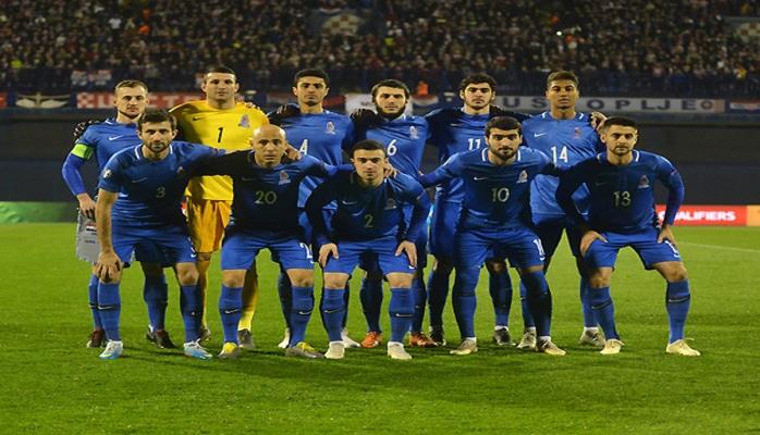 Евро-2020: Азербайджан провел очередной матч