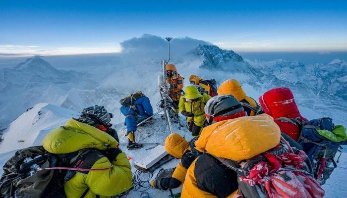 Метеостанция на высоте 8430 метров: новый рекорд Эвереста