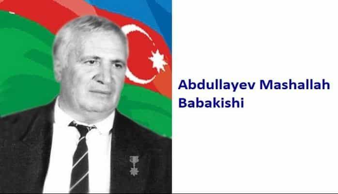 Abdullayev Mashallah Babakishi