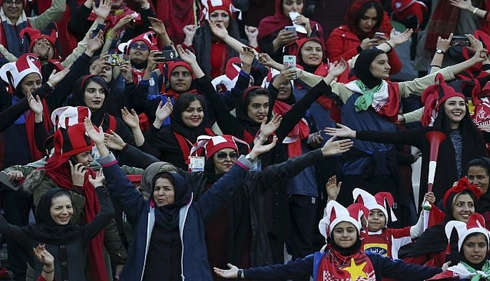 In first, Iran allows women to attend major soccer match in Tehran